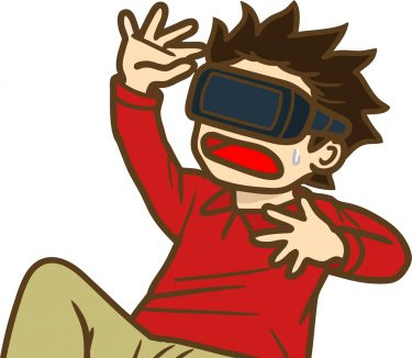 VRで遊ぶ子ども