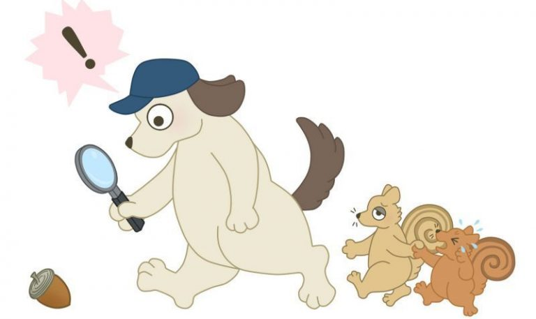 犬探偵の探し物