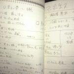古沢良太さんのプロットノート