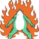 空前絶後のカエル
