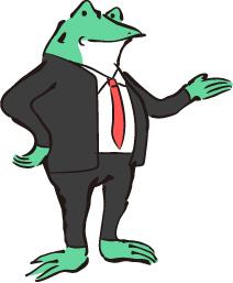 紹介カエル